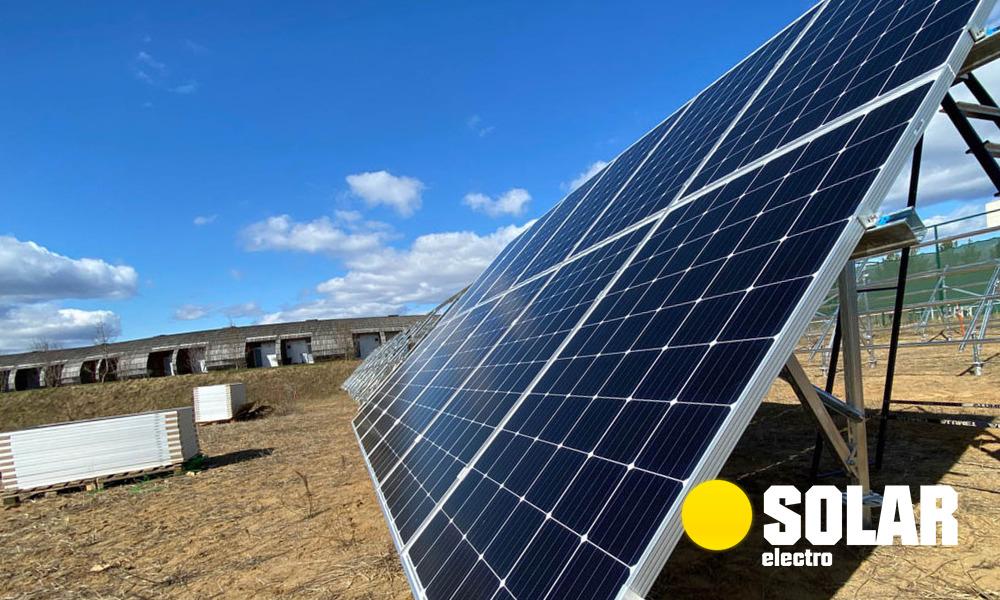 Солнечные электростанции под ключ от SOLAR-electro: купить комплект солнечной электростанции