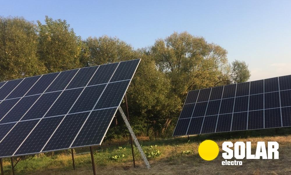 Установка мережевої сонячної електростанції 15 кВт