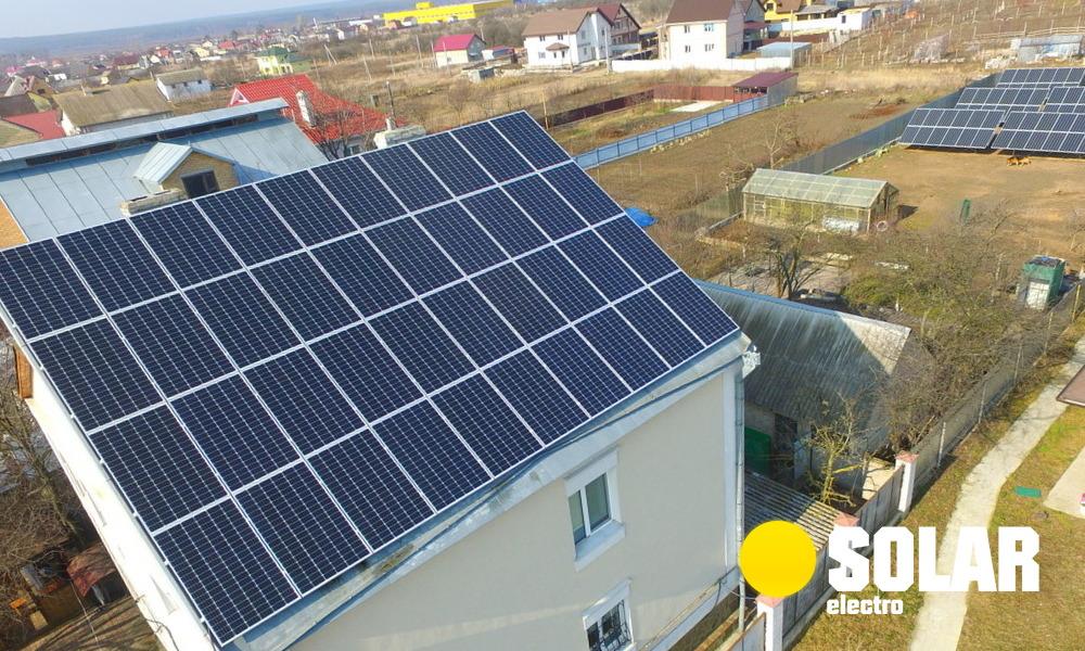 Експлуатація сонячної електростанції 20 кВт