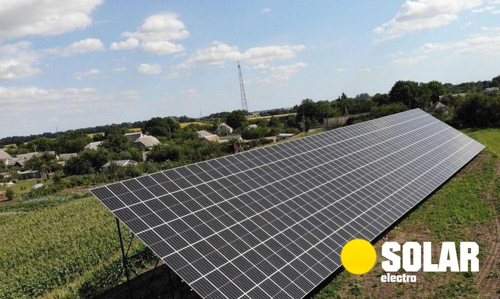 Сонячна електростанція 30 кВт: купити комплект, замовити монтаж
