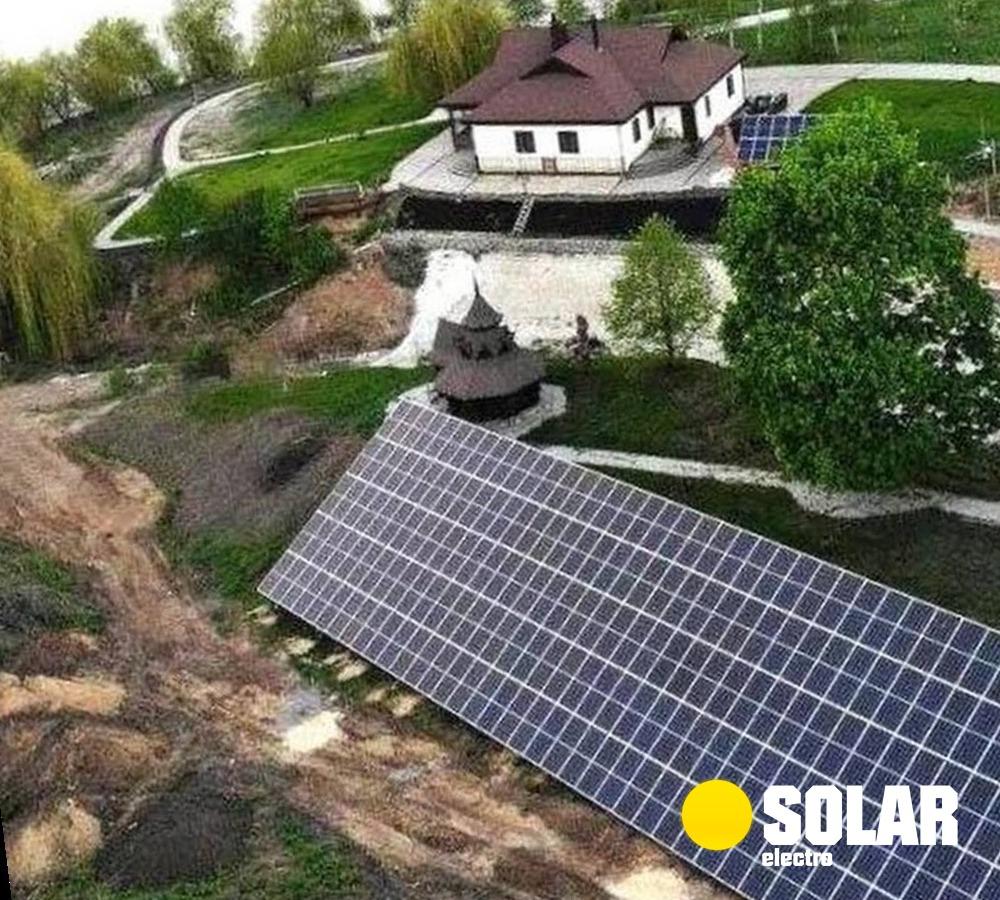 Солнечная электростанция 100 кВт: купить комплект, заказать монтаж