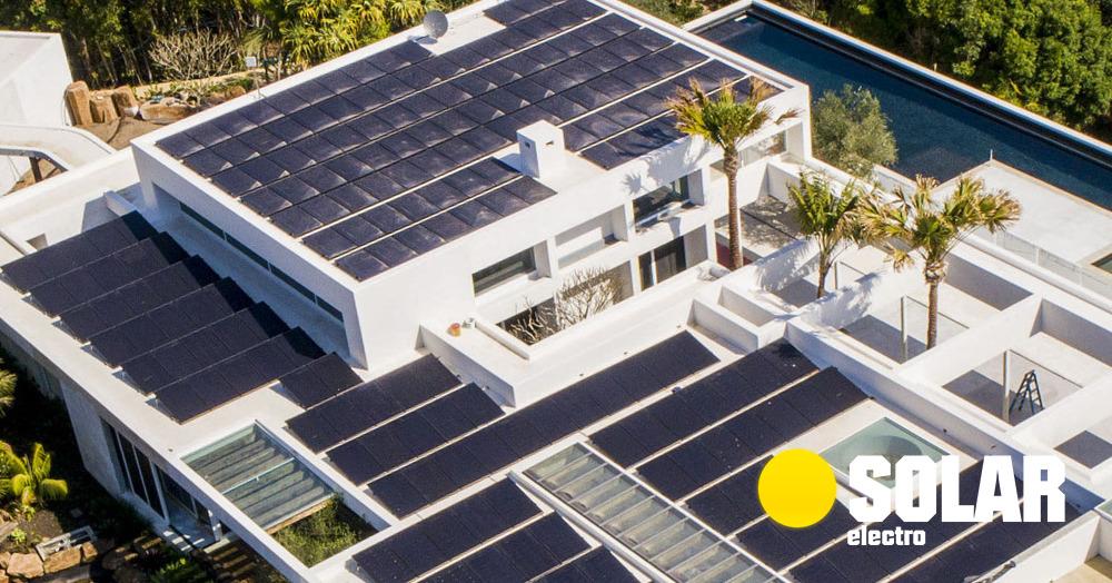 Солнечные батареи для частного дома: купить солнечные панели і установить на крышу