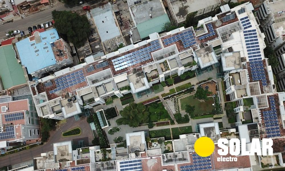 Сонячні батареї для квартири в багатоповерховому будинку: особливості реалізації енергопостачання