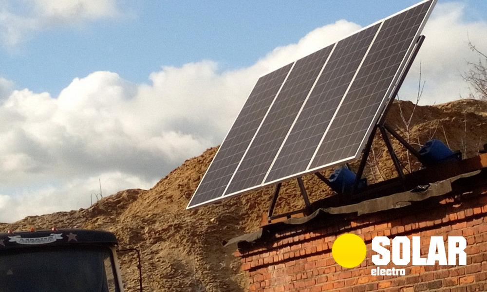 Солнечная электростанция 500 Вт