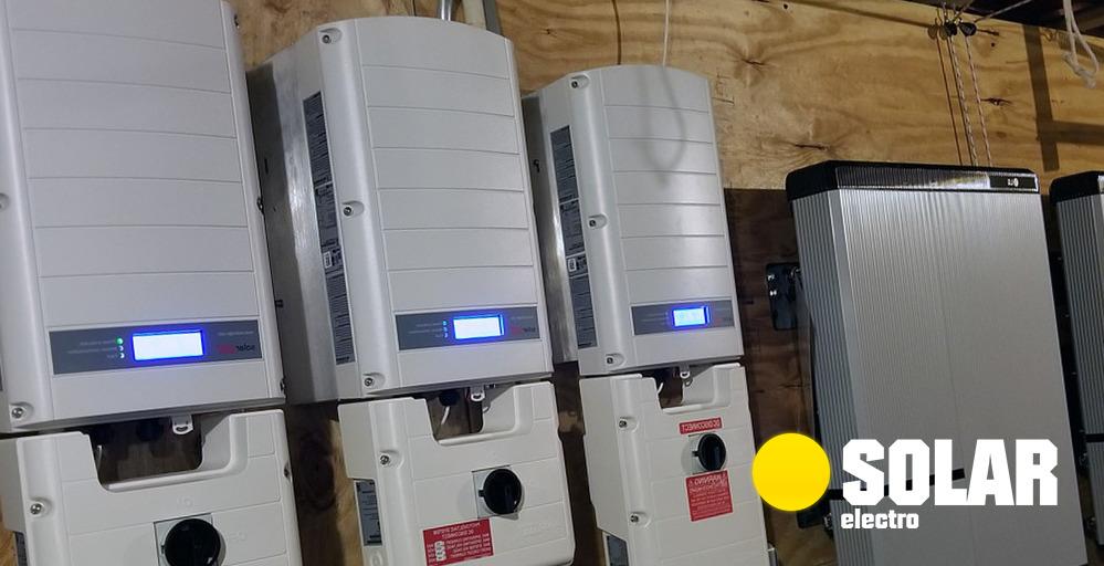 Установка фотоэлектрических систем